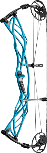 Hoyt Archery Defiant 34 in Electric Teal
