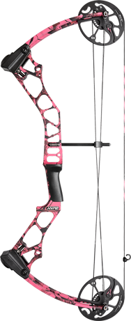 Mission Archery Hype in Lost Camo OT Pink